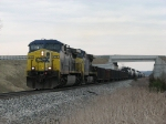 CSX 478 & 27 working fast westward with Q335-08