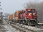 A pair of CP SD40-2's roll onto 2 track with X500-09