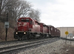 CP 5966 heads east past Sunnyside leading X500-09