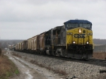 CSX 89 & 8754 rolls up the hill with Q335-12