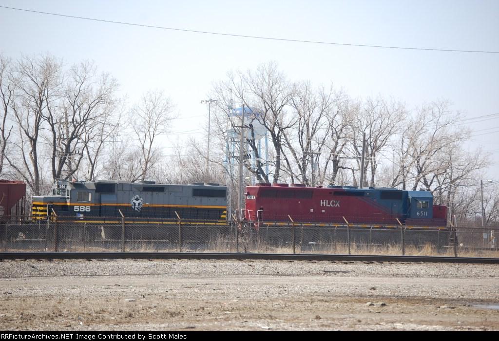 HLCX 6511 & BRC 586