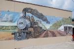 Frisco Mural, downtown Chaffee