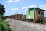Welded Rail Train on the K-Line
