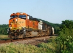 BNSF with NS help on the Hannibal Sub