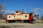 UP caboose display, New Haven MO