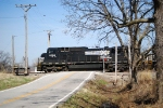 Norfolk Southern on the BNSF
