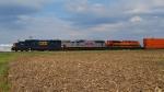 Westbound Schneider Train on the KCS