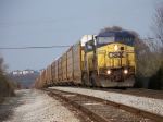 CSX 7652 on Q227 Southbound