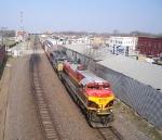 KCS through North Topeka