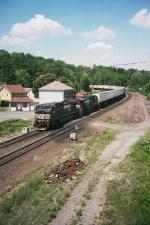 NS train 22W eastbound at Gallitzin
