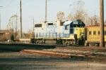 CSX GP38-2 at rest in Benton Harbor