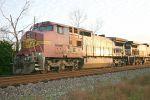 K877 in the siding at Canoe, AL