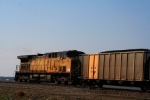 Union Pacific 7000 draws pusher duty