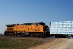 UP 7226Union Pacific C44AC 7226 draws pusher duty on an eastbound manifest