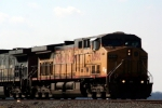 Here's a closeup of lead Union Pacific C44AC 6590