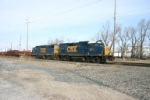 CSX 1511 going to Curtis Yard