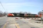 CN 2281 is Markham bound