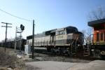 BNSF 9418 is second unit of DPU'd coal train on the Trunk