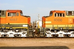 BNSF 1057 and BNSF 4008