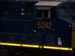CSX 5242 (Railroaders Do it Day and Night)