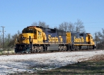 BNSF 8727/BNSF 2790 Monett local west bound