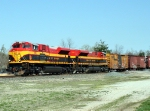 KCS 4112/KCS 4102 south bound