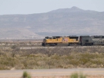UP 4913 leads a WB doublestack at 11:41am