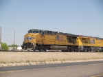 UP 5494 leads a WB doublestack KATLB (Atlanta-Long Beach) at 2:25pm