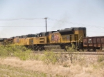 UP 8375 #3 power in a WB manifest at 2:27pm