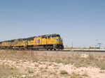 UP 5210 leads an EB doublestack ZLAMN - LA to Marion, AR - at 11:47am