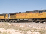 UP 9571 #3 power in an EB intermodal ZLAMN-3 - LA to Marion, AR at 11:47am