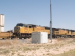 UP 4066 #4 power in an EB intermodal ZLAMN-3 - LA to Marion, AR at 11:47am