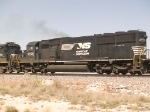 NS 6709 #3 power in an EB doublestack ZLCAI - LA - Shreveport - at 12:18pm