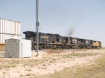 NS 8781 #4 power in an EB doublestack ZLCAI - LA - Shreveport - at 12:18pm