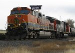 BNSF 977 and CN unit