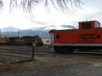 SP 177 And DRGW caboose