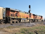 BNSF 5728 2nd unit of a coal heading south,