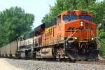 BNSF 5782 rocks n rolls this coal load south.