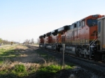 BNSF 6285 with all newer power.