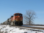 BNSF 5760 rolling south