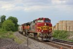 BNSF 768 leads the 836 local south.