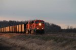 BNSF 6019 leads a load of ucex coal.