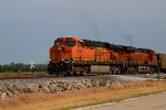 BNSF 6226 leads this empty coal train NB.