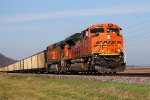 BNSF 9251 leads a load of coal sb.