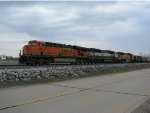 BNSF 6069 Waits for a train meet at Old Monroe Mo.