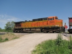 BNSF 5605 shoves a coal south.