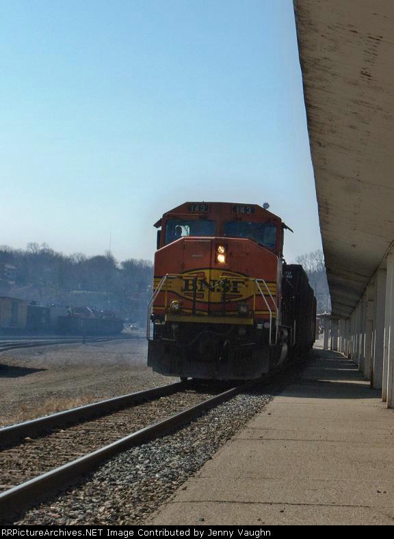 BNSF 143 going away