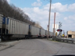 coal drag at the crossing