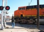 Bub and BNSF 6115