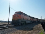 BNSF 6115 rumbling away
